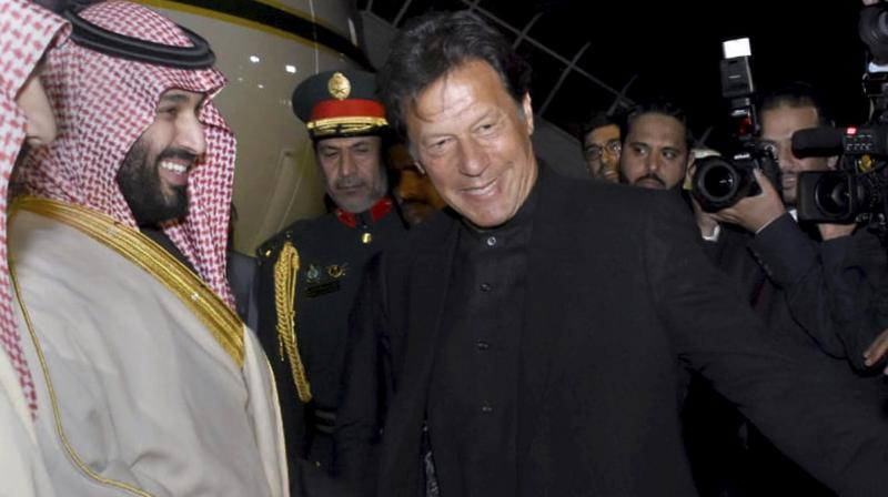 """Saudi Arabia vowed to """"de-escalate"""" rising tensions between Pakistan and India during a high-profile summit in Islamabad. (Photo:AP)"""