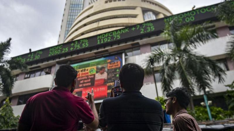 Bombay Stock Exchange. (Photo- PTI)