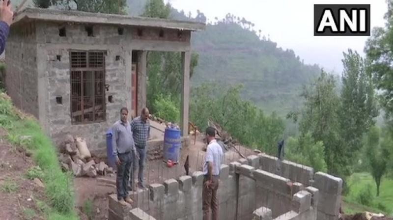 Incidents of cross-border firing and shelling take a toll on the lives of civilians who live close to the India-Pakistan border.  The bunkers are meant to provide them with a safety cover in case of cross-border firing. (Photo: ANI)
