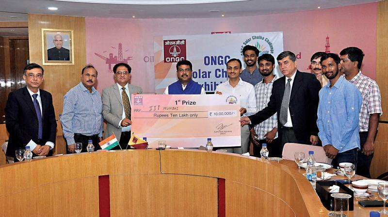 Prof Chetan Solanki is awarded `10 lakh for the ground-breaking and revolutionary innovation.