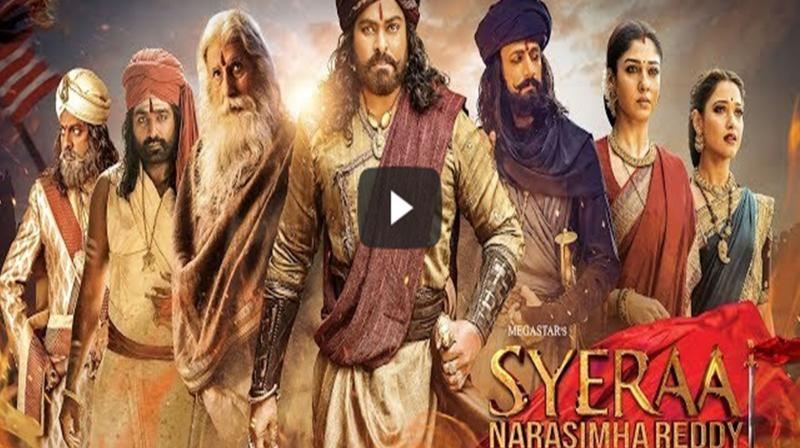 Sye Raa Narasimha Reddy teaser. (Photo: YouTube)