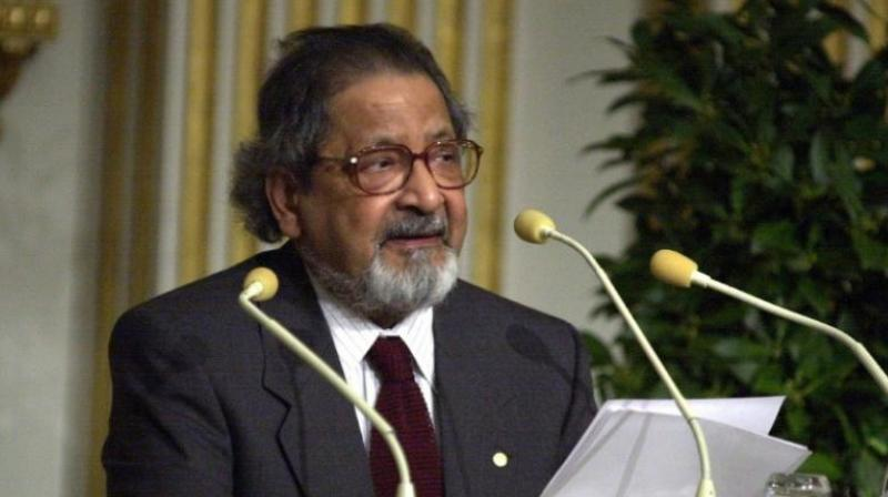 Nobel literature laureate Vidiadhar Surajprasad Naipaul (Photo: AFP)