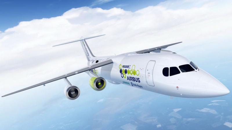 Airbus SE would be responsible for building the aircraft's systems into a working whole, control systems and flight controls. (Photo: Airbus)