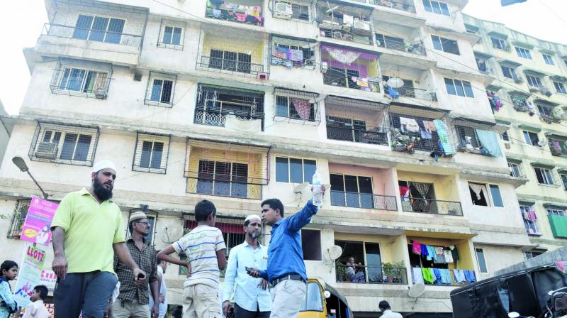 Nazim S. Ahmed stayed in Mumbra with two friends. (Photo: Deepak Kurkunde)