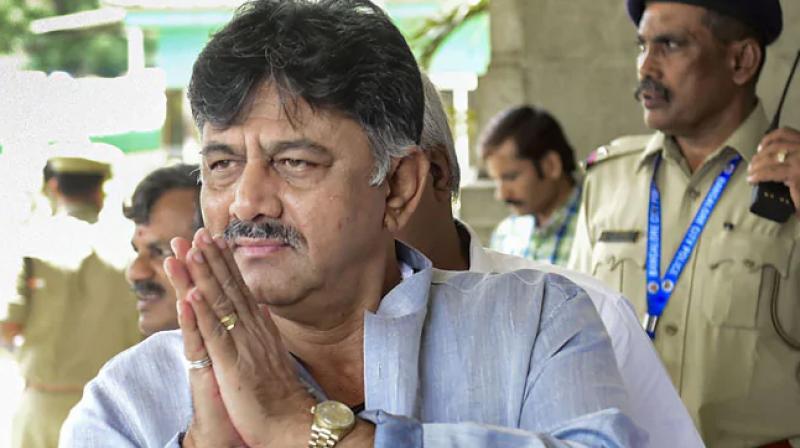 Karnataka Congress chief DK Shivakumar