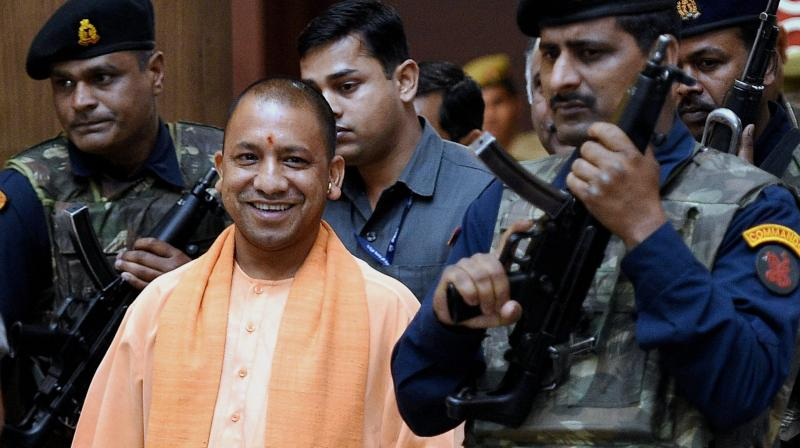 Uttar Pradesh Chief Minister Yogi Adityanath (Photo: PTI)