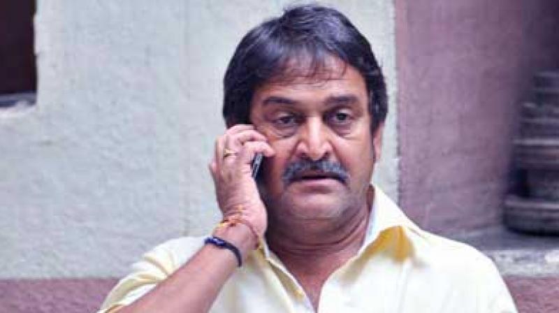 Actor-Director Mahesh Manjrekar.