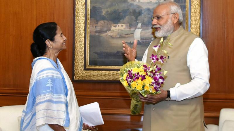 Mamata Banerjee wishes PM Modi on his birthday ahead of meet