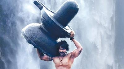 A still from the movie Baahubali: The Beginning