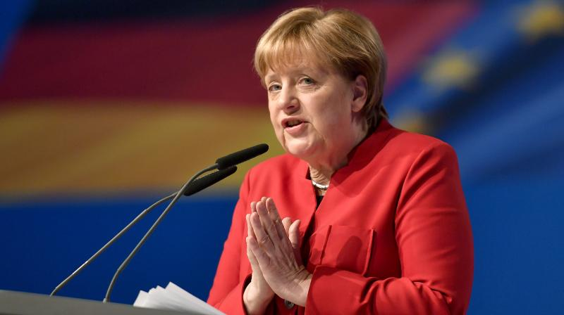 Merkel will kick off a series of rallies across the country with an hour-long speech to supporters in the western city of Dortmund. (Photo: File)
