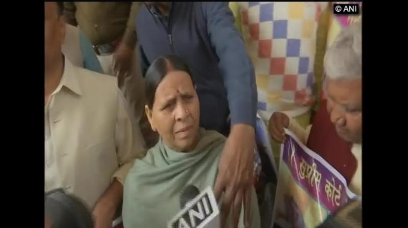 'What happened in Hyderabad will act as a deterrent against criminals ... we welcome this. In Bihar too, incidents of crimes against women is rising. The state government here is lax and doing nothing,' former Chief Minister Rabri Devi wrote on Twitter.  (Photo: File | ANI)