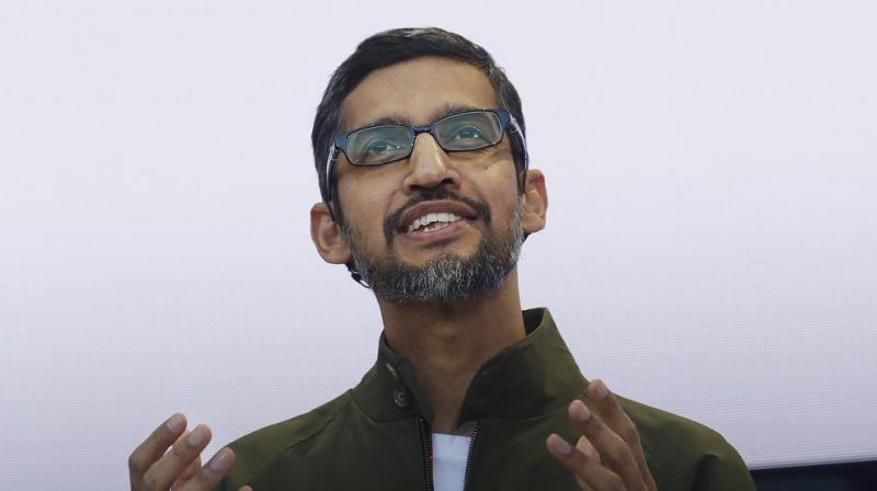 Chief Executive Sundar Pichai told staff that though development is in an early stage, providing more services in the world's most populous country fits with Google's global mission. (Photo: File)