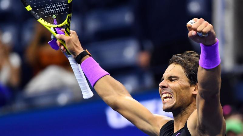 The match was played at Arthur Ashe Stadium. (Photo: AFP)