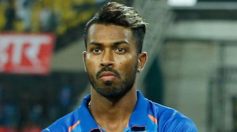 Hardik Pandya's birthday wishes left fans fuming who slammed the 'Indian all-rounder' with brassy replies on his video. (Photo: BCCI)