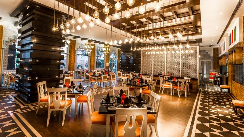 Inspired from the Indian Northwest Frontier Province, the restaurant, which was launched in 2012, has a décor and cuisine that has been designed with celebration and drama in mind.