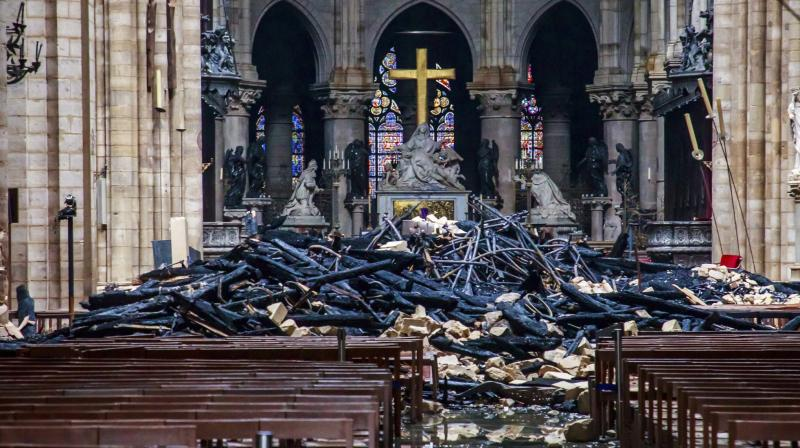 Notre Dame was a treasure trove, housing priceless and irreplaceable marvels of immense religious, artistic, musical, historical and architectural value. (Photo: AP)