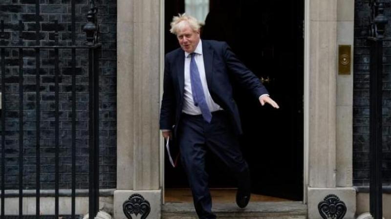 Boris Johnson, Prime Minister of the United Kingdom. (AFP Photo)