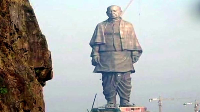 'They (RSS-BJP) do not have heroes of their own....So they are making the Statue of Unity of Sardar Patel and that too, has been made in China,' Congress leader Anand Sharma said. (Photo: ANI)