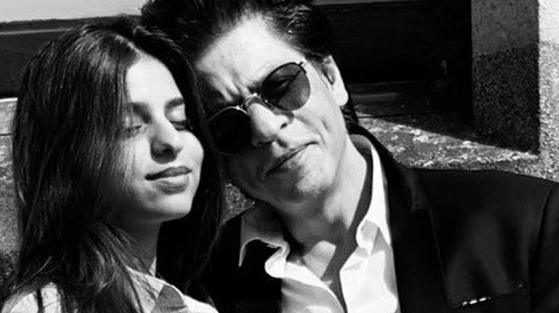 Shah Rukh Khan with daughter Suhana Khan. (Photo: Instagram)