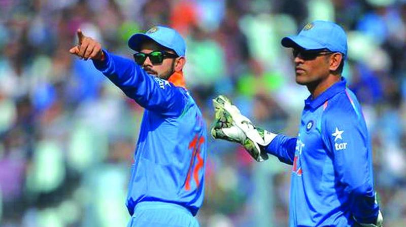 Kohli hails Dhoni's calming influence