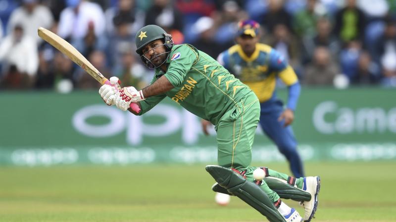 Sarfraz Ahmed played a stellar role in Pakistan's three-wicket victory over Sri Lanka in a virtual quarterfinal. (Photo: AP)