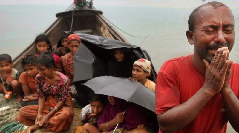 About 150,000-200,000 Rohingya refugees in Bangladesh's Cox's Bazar are at risk from flooding and landslides during the monsoon season. (Photo: AP)
