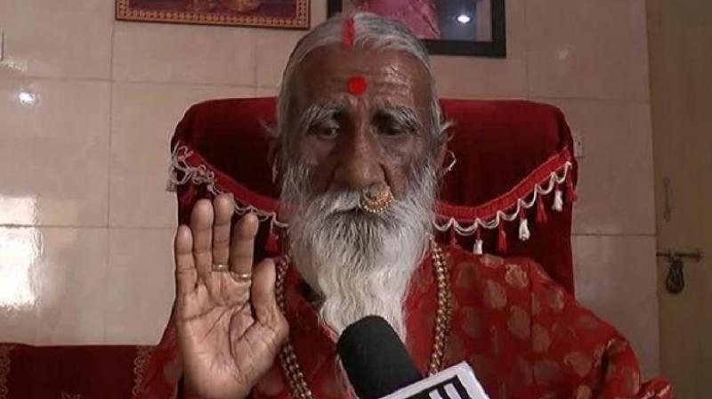 Yogi from Gujarat, Prahlad Jani, is referred to as 'Mataji' by his devotees. (Photo: ANI)