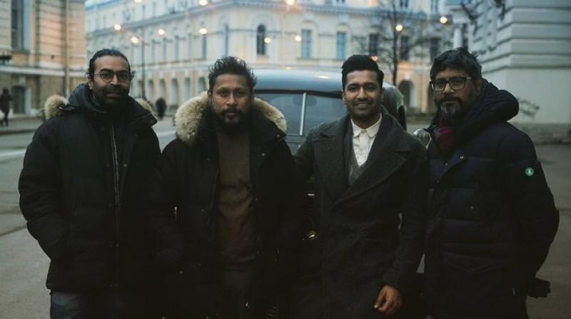 Sardar Udham Singh team. (Photo: Twitter)