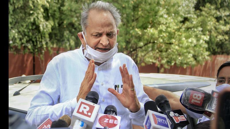 Rajasthan Chief Minister Ashok Gehlot. (PTI)