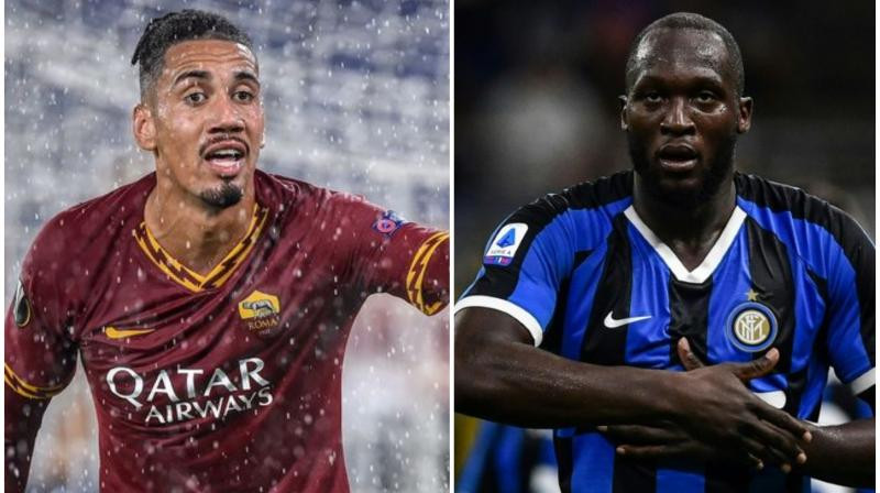 Inter Milan and AS Roma have banned an Italian newspaper from the clubs' training grounds for the rest of 2019 after the daily printed a controversial 'Black Friday' headline. Images of Romelu Lukaku (Inter Milan) and Chris Smalling (AS Roma) were used along with the headline. (Photo:AFP)