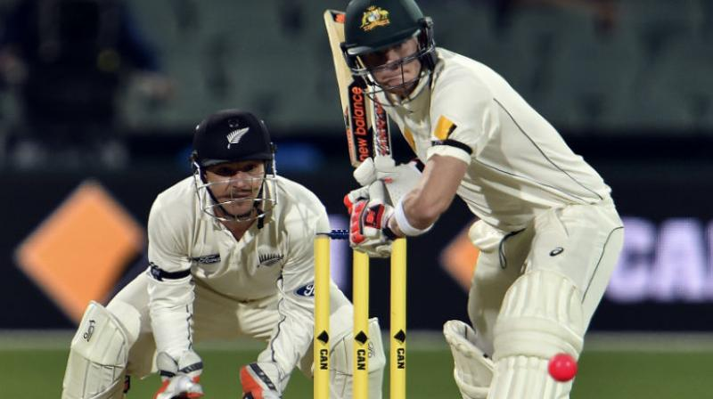 Australia opened their home season with a cakewalk against Pakistan but New Zealand should present a much stiffer challenge when they look to end their 34-year wait for a second test series triumph in their neighbours' backyard. (Photo:AFP)