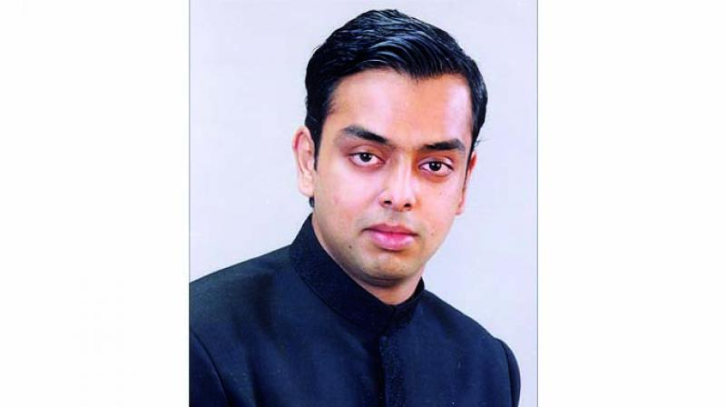 Congress leader Milind Deora
