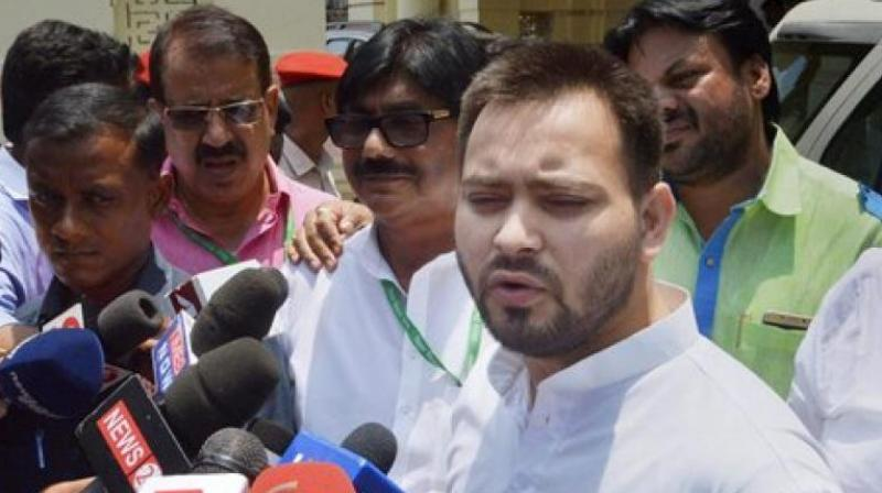 File image of RJD leader Tejaswi Yadav. (PTI)