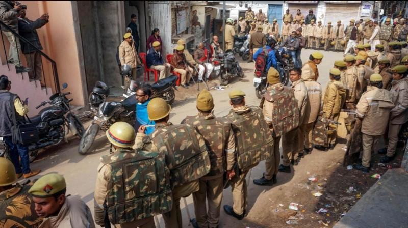 The identified protestors would be fined and if they fail to pay the amount, the authorities would seal their properties. (Photo: PTI)