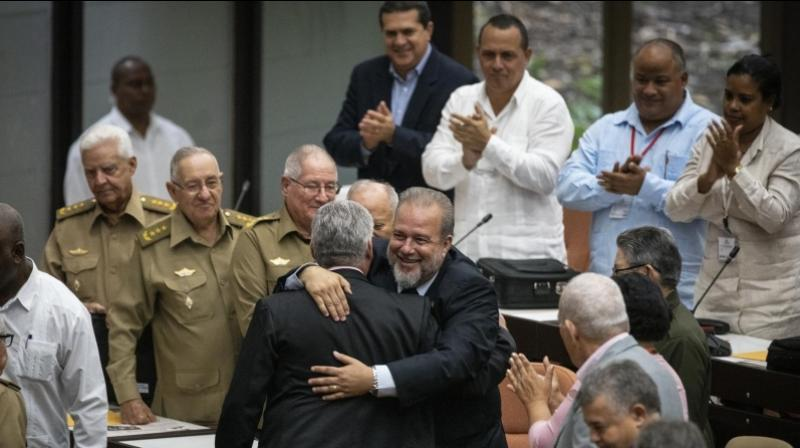 The appointment of Marrero, 56, as head of government is part of a process of decentralization and generational change from the revolutionary old guard that is aimed at extending and protecting Communist Party rule. (Photo: AP)