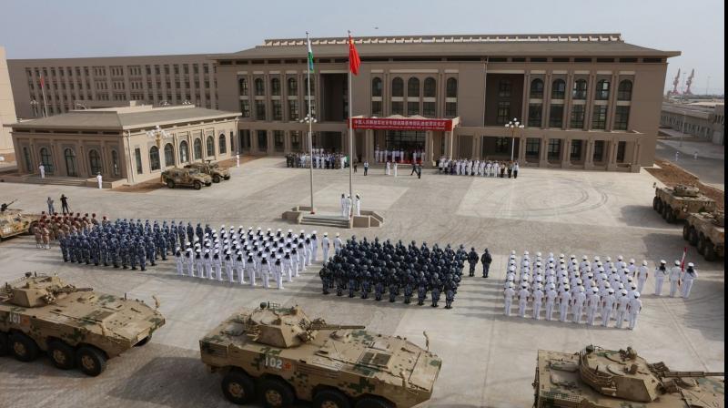 China's military base in Djibouti. (Photo: AP)