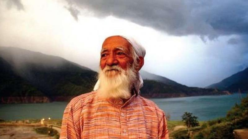 The environment activist was also actively involved in the Anti-Tehri Dam movement. (Photo: Twitter)