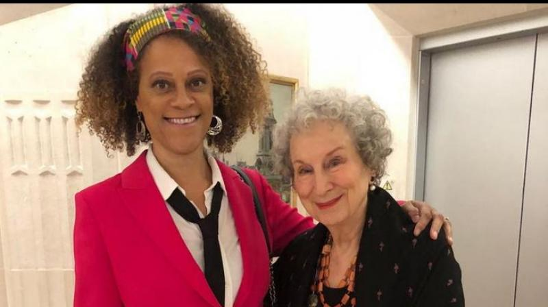 It means Atwood and Evaristo will split the 50,000 pound (USD 63,000) Booker Prize purse. (Photo: Twitter)