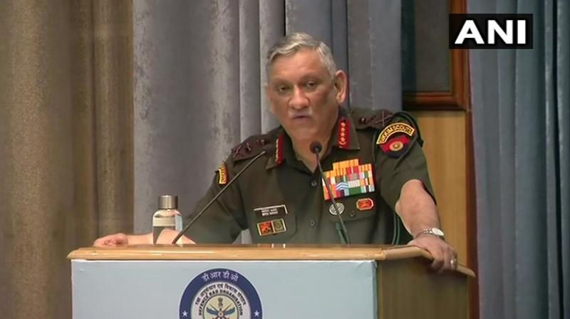 General Bipin Rawat. (Photo: ANI)