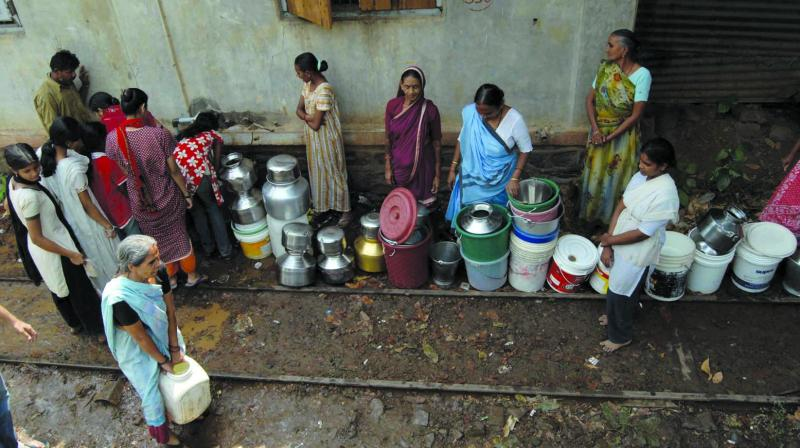 The situation of water stock in seven lakes of Mumbai appears grim as only 22 per cent of the stock was left till April 20.