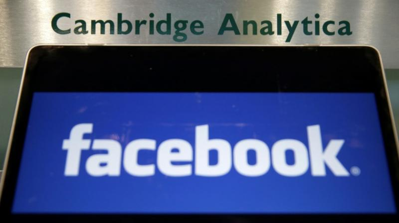 Cambridge Analytica, whose clients included Donald Trump's 2016 presidential campaign, sought information on Facebook users to build psychological profiles on a large portion of the US electorate. (Photo: AFP)