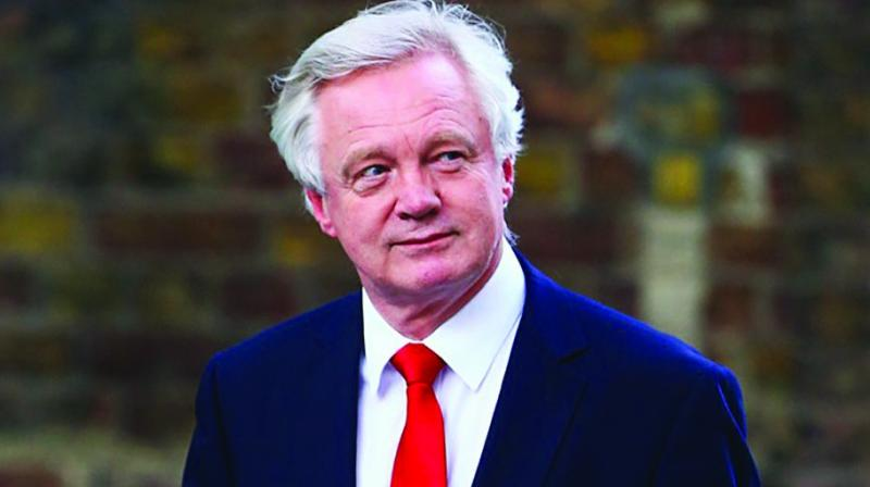 Britain's Secretary of State for Exiting the European Union, David Davis wrote in his resignation letter that the 'common rule book policy hands control of large swathes of our economy to the EU and is certainly not returning control of our laws in any real sense'. (Photo:File)