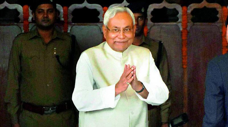 Bihar Chief Minister Nitish Kumar (Photo: File)