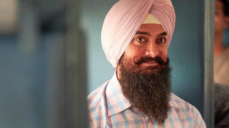'Laal Singh Chaddha' first look poster featuring Aamir khan out