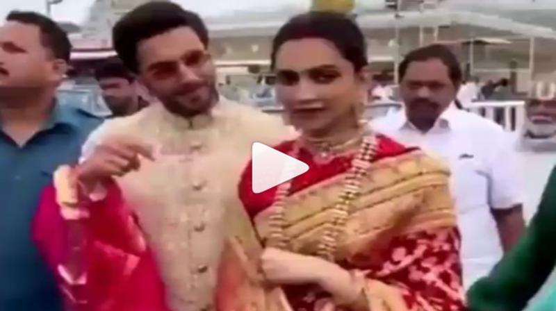 Deepika Padukone and Ranveer Singh. (Photo: Instagram)