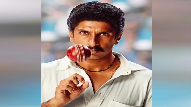 Ranveer Singh's look as Kapil Dev in '83. (Photo: Instagram)