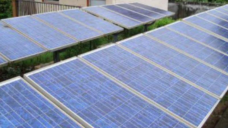 GIPCL has commissioned the solar power project at Gujarat Solar Park, Village Charanka, Dist. Patan, Gujarat. (Representational Image)