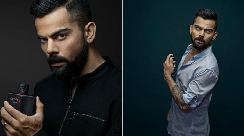 One8 Fragrances is a culmination of all the unfamiliar characteristics of Virat's personality.