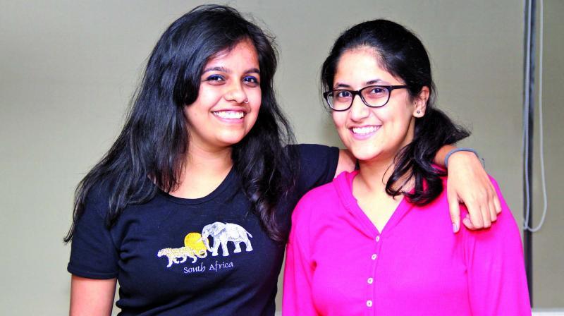 Jahnavi Joshi and Nupura Kirloskar