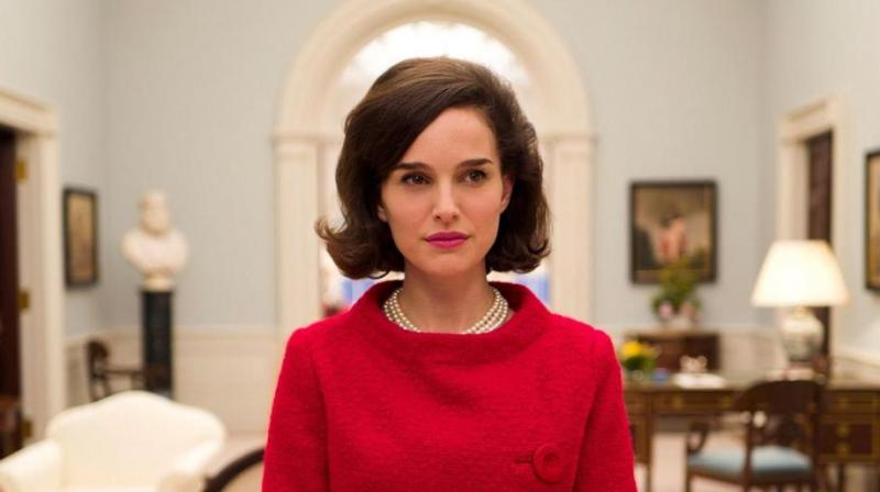 Natalie in a still from 'Jackie'.